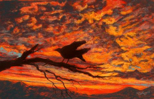 Desert Sunsets in Pastel