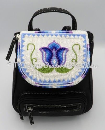 Beaded Accent Backpack