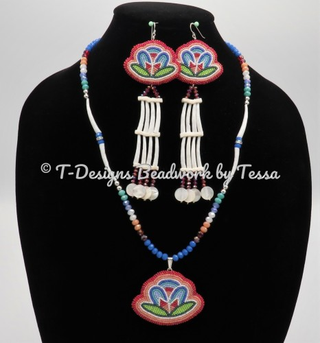 Earring & Necklace  Set