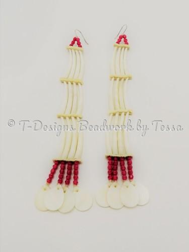 Southern Dentalium Shells by T-Designs Beadwork