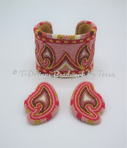Southern Pink appliques