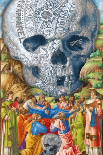 Rubino Vintage Skull Garden Rise