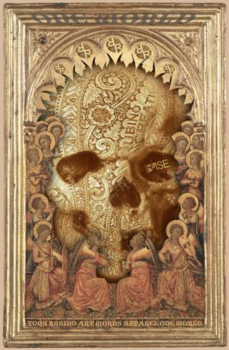 Rubino One World No Fear Gold Skull