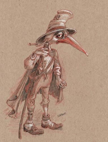Grandville Bird