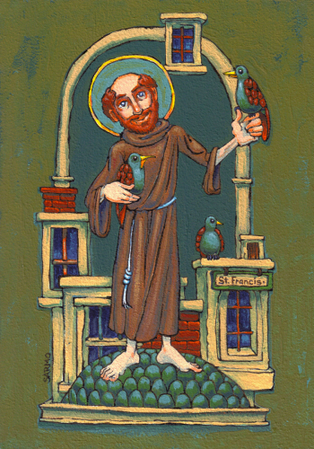 Saint Francis and the Birds