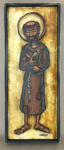 Saint Francis by Tom Sarmo