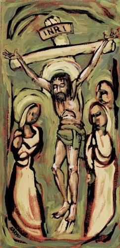 Crucifixion by Tom Sarmo