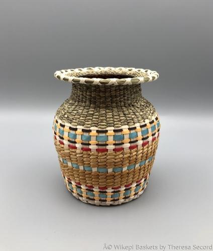 B&M Baked Bean Jar Vase Baskets