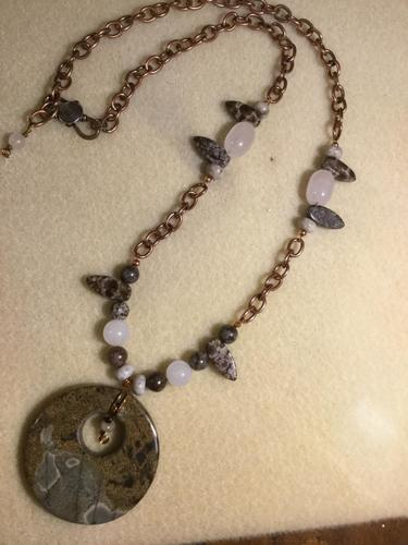 #7 Ocean Jasper Pendent Necklace