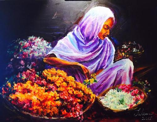 Garlands for You by Tahseen Khan