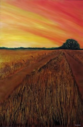 Summer Paths by Tom Stevens Fine Art