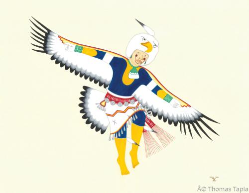 """Eagle Dancer"" by Thomas Tapia"