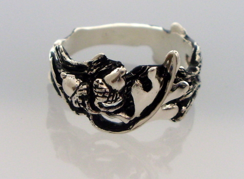 Oak Leaf and Acorn Ring
