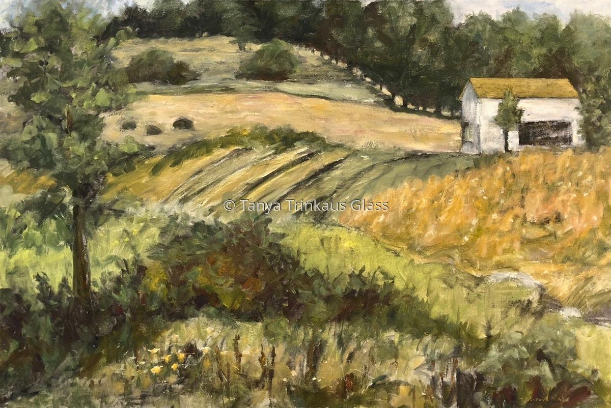 Harvestime Farmscape (Bennington Collage) (large view)