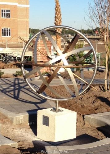 Armillary Sphere, Ft. Stewart, GA