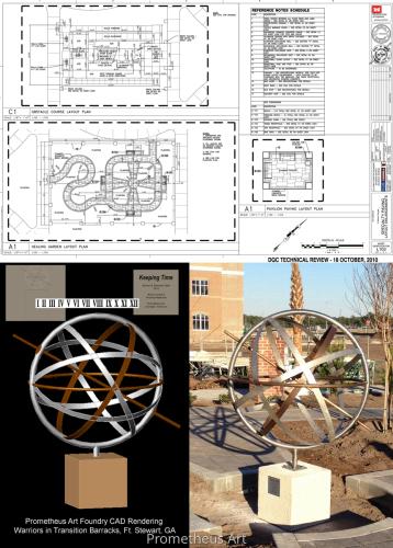 Custom Armillary Sphere