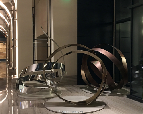 The Angel's Share, Monumental Sculptures for Lobby of Omni Hotel Louisville, KY