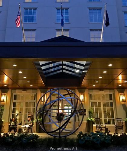 Fire Feature at Renaissance Hotel Charleston, SC