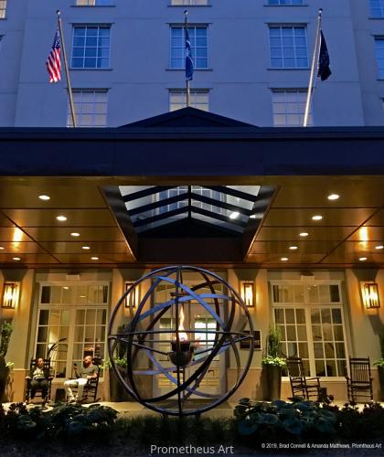Renaissance Hotel Vortex Fire Sculpture, Charleston, SC