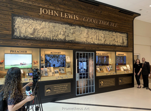 Good Trouble Tribute to John Lewis, Atlanta International Airport