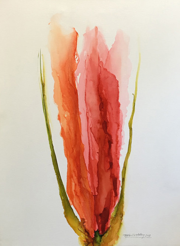 Red Flower #4
