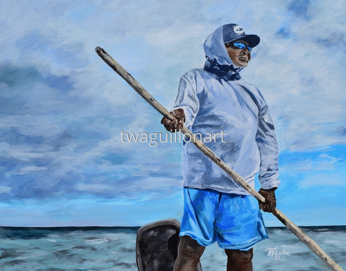 A Fisherman in Belize (large view)