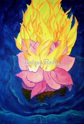 Burning Nucifera