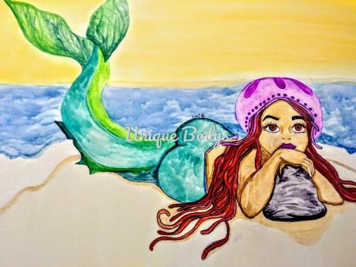 Black mermaids and JellyfishBonnet