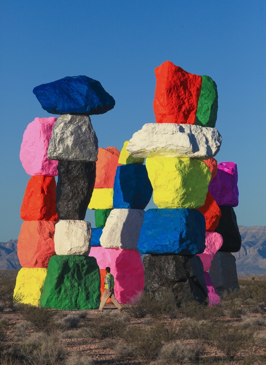 Seven Magic Mountains (large view)