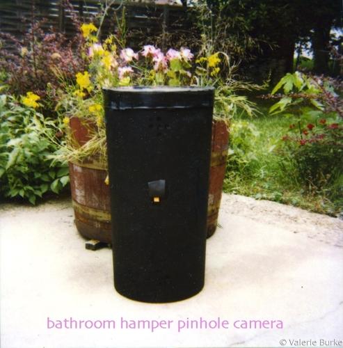 bathroom hamper pinhole camera