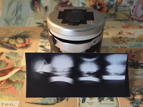 Serial Pinhole Camera