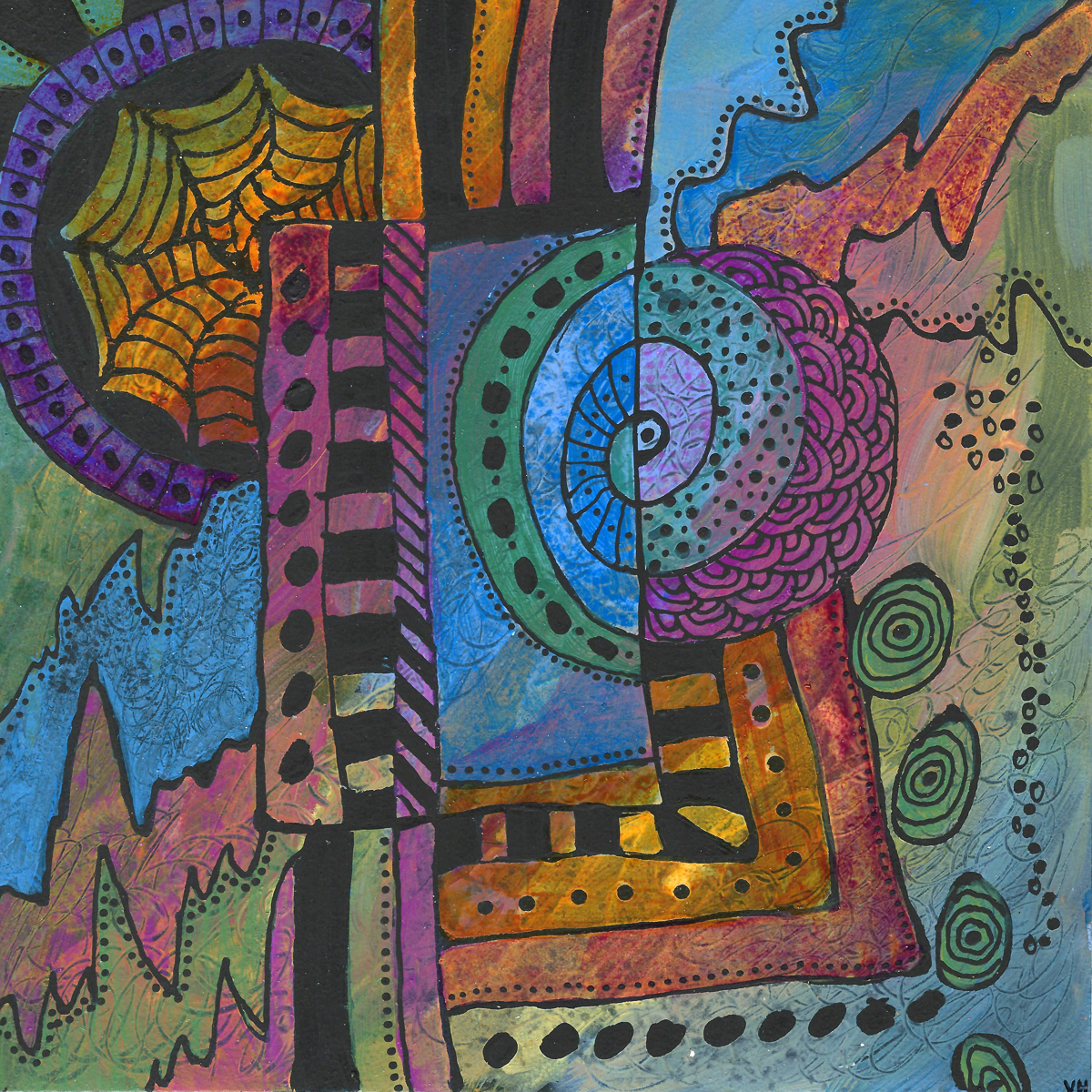 Spiral in Time by Valerie Hildebrand (large view)