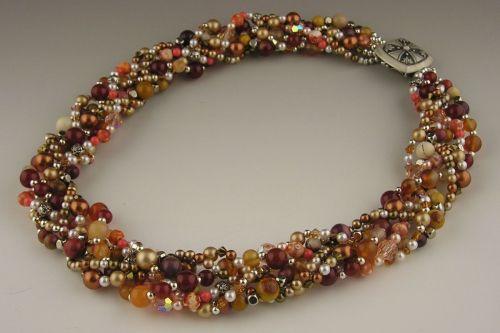 Autumn Suprise Necklace by Valerie Hildebrand