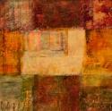 Painting--Acrylic-AbstractVilla of Earthly Delights: Fresco III