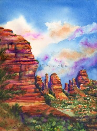 Bright Skies of Sedona