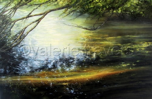 Reflective Mood by Valerie Travers