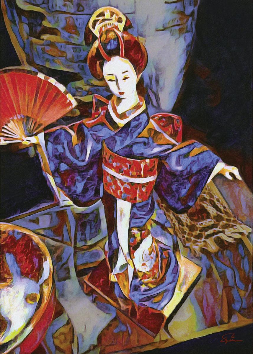 Geisha Doll (large view)