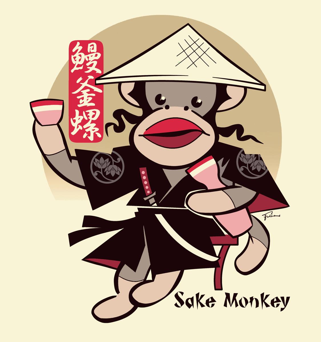Sake Monkey (large view)