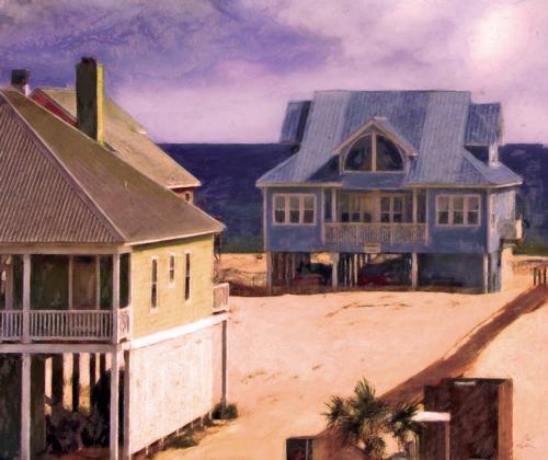 Beach Houses On the Gulf