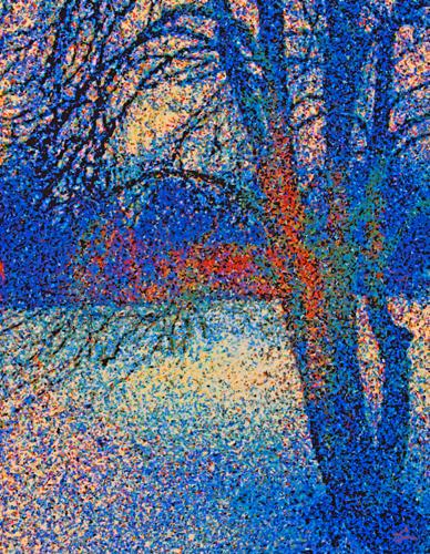 Deep Blue Winter