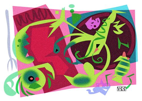 Green Crustaceans