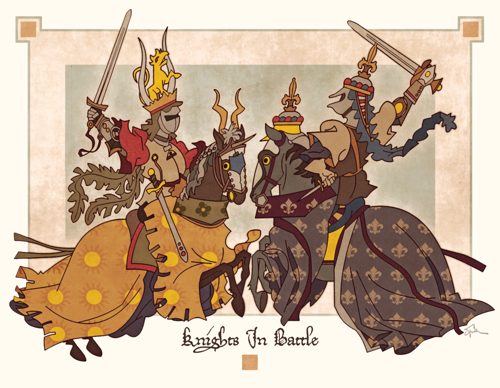 Knights In Battle