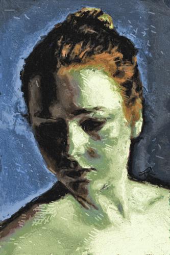 Little Green Portrait