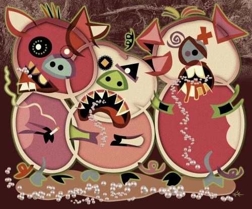 Pearls Before Swine by Van Evan Fuller