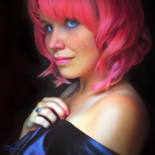 Pink Vanessa