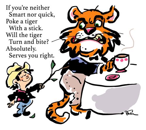 Poke a Tiger