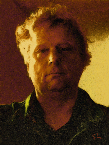 Portrait of Theo van Gogh, Great-Grand-Nephew of the Painter, Assassinated By Jihadists