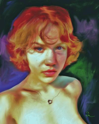 Portrait of Vanessa