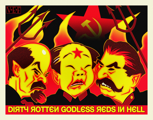 Dirty Rotten Godless Reds In Hell