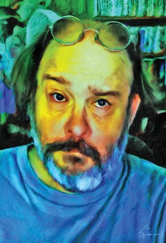 Self Portrait In Yellow